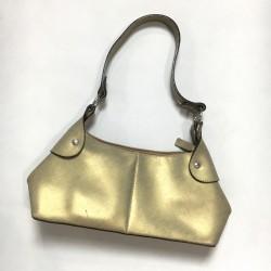 Złota torebka na ramię