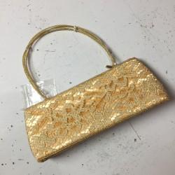 Vintage torebka złota
