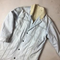 Płaszcz jeansowy